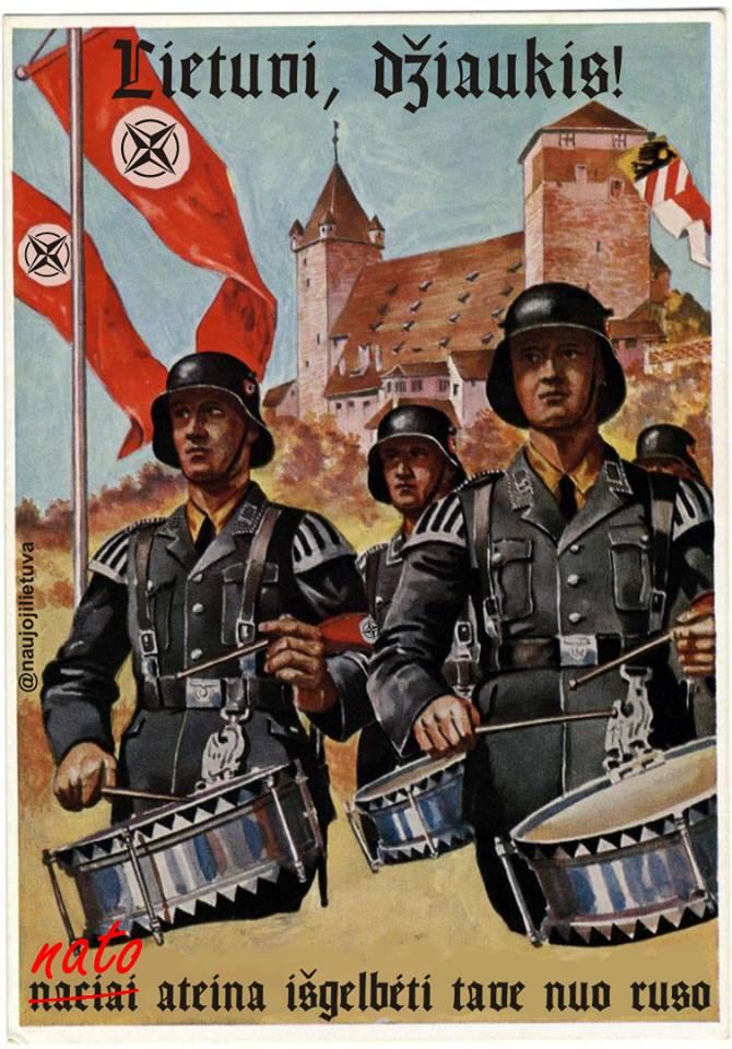 NATO-istiniai fašistai